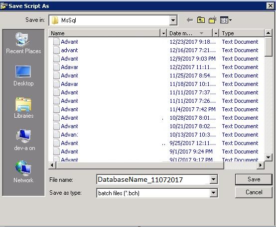 NetBackup restore shwoing .bch file