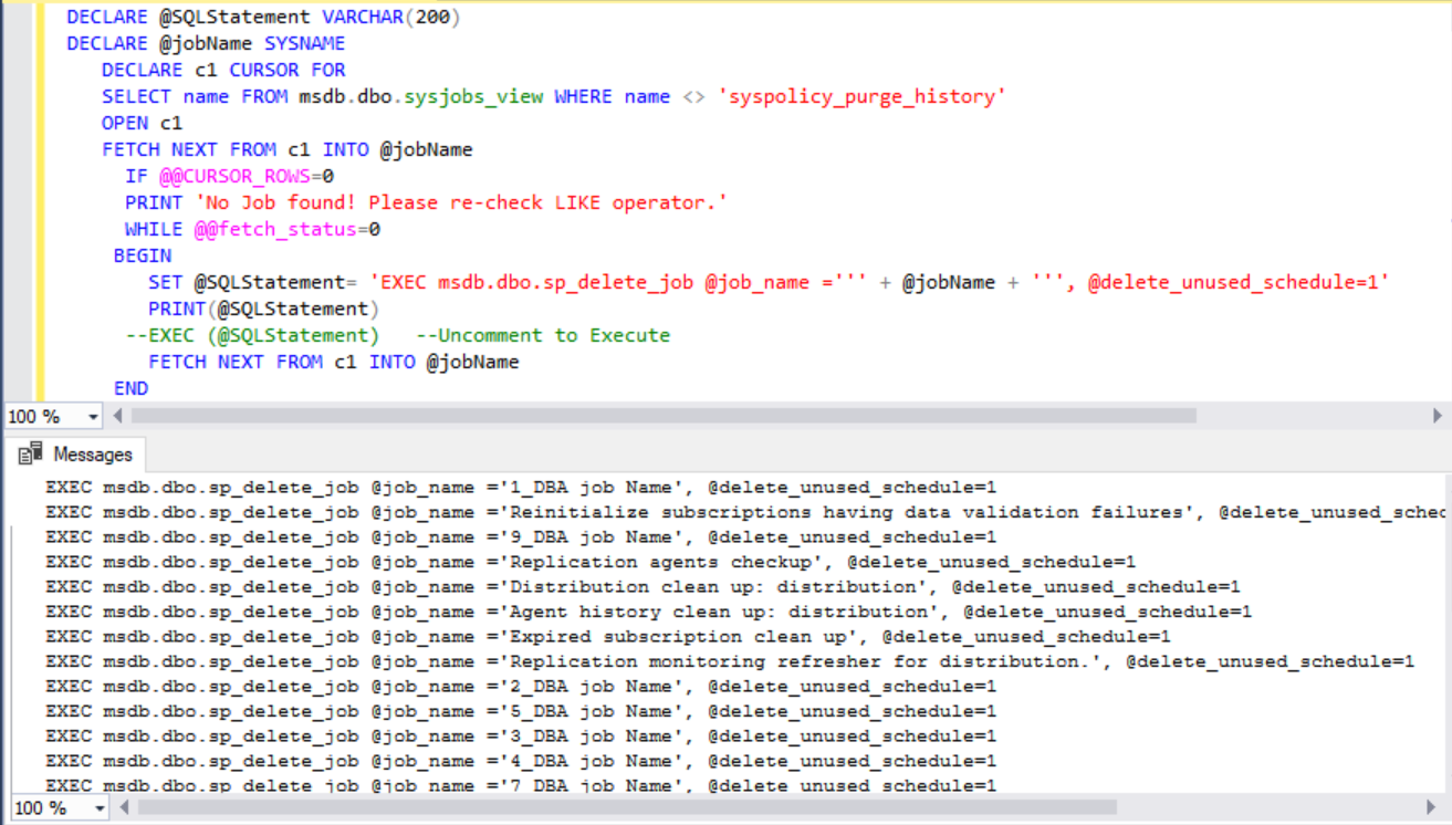 Useful Scripts Archives » SQLGeeksPro